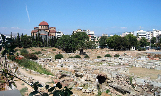 Ancient Agora: Ruins of the Marketplace